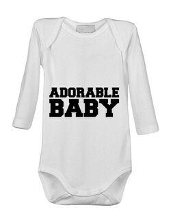 Baby body Adorable baby Alb