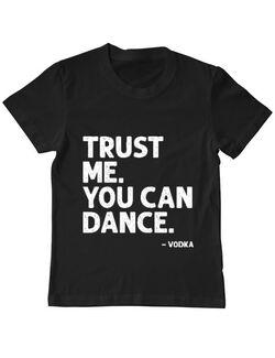 Tricou ADLER copil You can dance Negru
