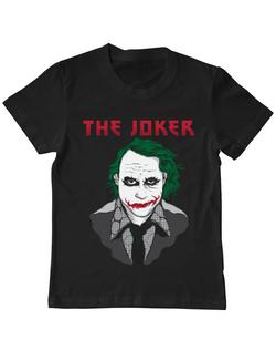 Tricou ADLER copil The joker Negru