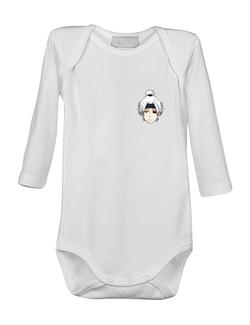 Baby body Geleu 3 Alb
