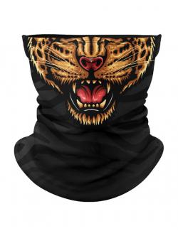 Masca tip cagula moto Angry cheetah