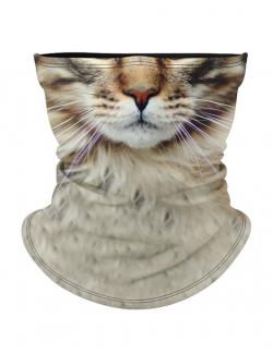 Masca tip cagula moto Cat face