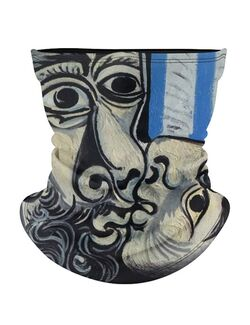 Masca tip cagula moto Picasso kiss