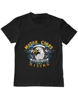 Tricou ADLER copil Eagle Negru