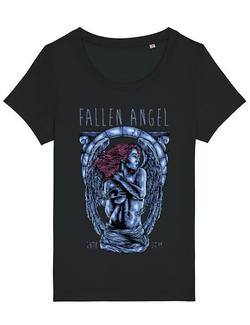 Tricou STANLEY STELLA dama Fallen angel Negru