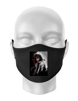 Masca personalizata reutilizabila Solitude Negru