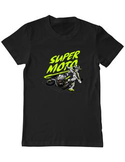 Tricou ADLER barbat Super Moto Negru