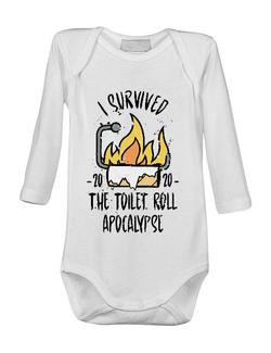 Baby body Toilet roll apocalypse Alb