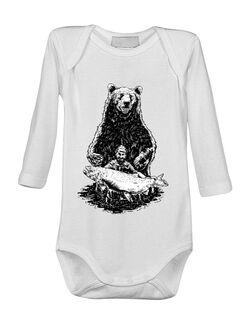 Baby body Bearware Alb