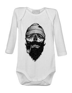 Baby body Bone sailor Alb