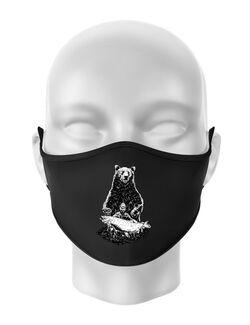 Masca personalizata reutilizabila Bearware Negru