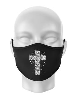 Masca personalizata reutilizabila Cross Negru