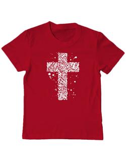 Tricou ADLER copil Cross Rosu