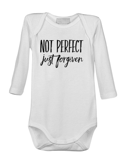 Baby body Not Perfect Just Forgiven Alb
