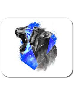 Mousepad personalizat Electro tiger Alb