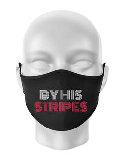 Masca personalizata reutilizabila By His Stripes Negru