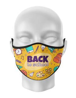 Masca de gura personalizata Back to school