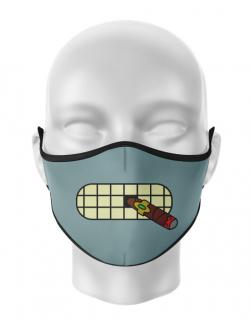 Masca de gura personalizata Bender