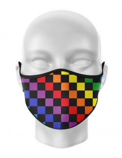 Masca de gura personalizata Colors