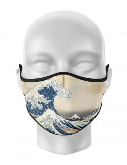 Masca de gura personalizata Great wave
