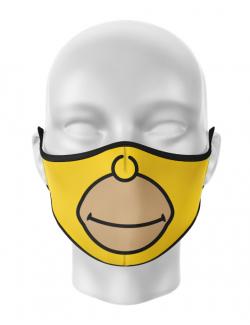 Masca de gura personalizata Homer face