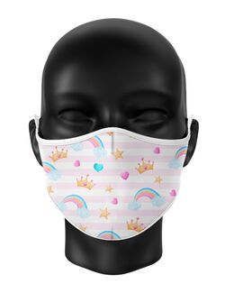 Masca de gura personalizata Little princess