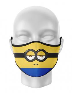 Masca reutilizabila personalizata Minion