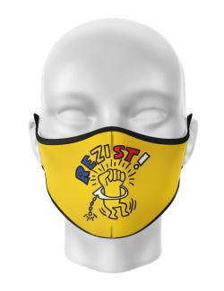 Masca reutilizabila personalizata Rezist 2