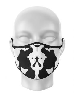 Masca de gura personalizata Rorschach