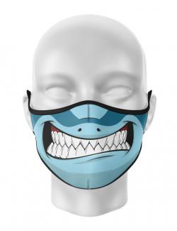 Masca de gura personalizata Shark face
