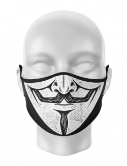 Masca de gura personalizata Vendetta
