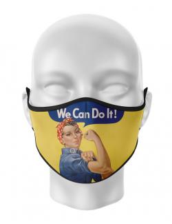 Masca de gura personalizata We can do it