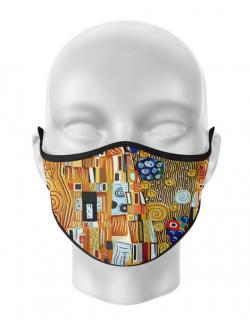 Masca de gura personalizata Gustav kiss