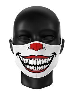 Masca reutilizabila personalizata Joker smile