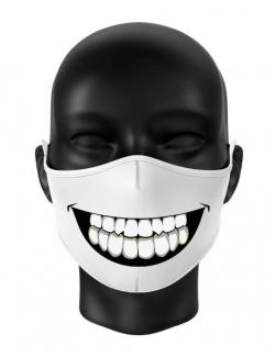 Masca reutilizabila personalizata Big smile