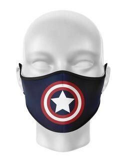 Masca de gura personalizata Captain America