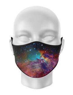 Masca de gura personalizata Galaxie