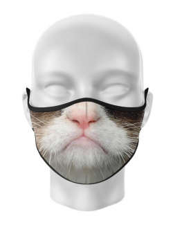 Masca de gura personalizata Grumpy Cat