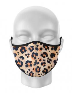 Masca de gura personalizata Leopard