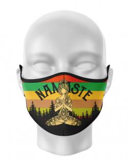 Masca de gura personalizata Namaste