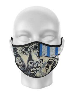 Masca de gura personalizata Picasso kiss