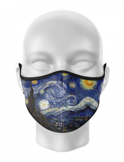 Masca de gura personalizata Starry night