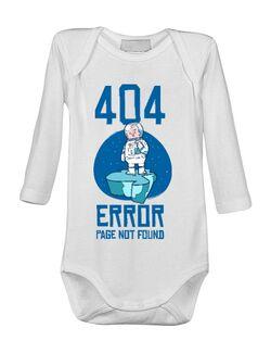 Baby body 404 error page not found Alb