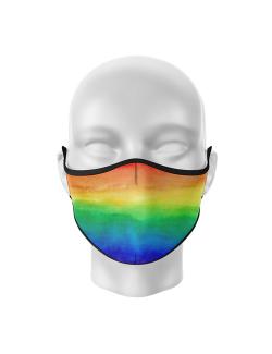 Masca de gura personalizata Rainbow