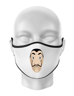Masca personalizata reutilizabila Dali mask Alb