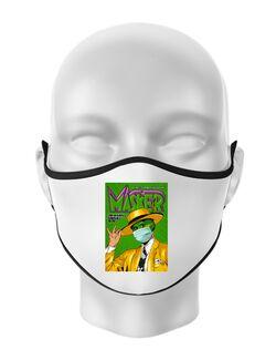 Masca personalizata reutilizabila Masker Alb