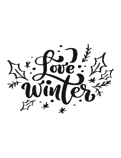 Love Winter - Cani de craciun