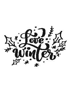 Love Winter - Cani de craciun