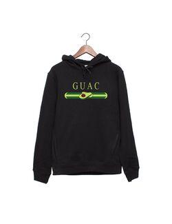 Hanorac personalizat negru unisex Guac