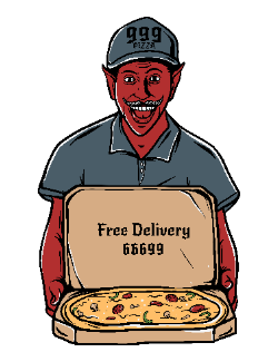 Satan pizza delivery